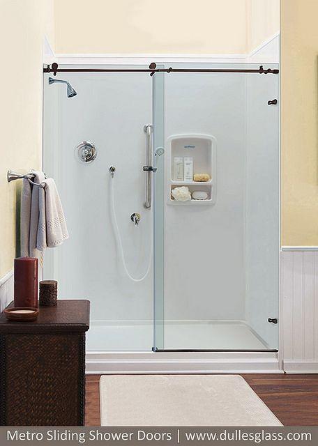 Shower Door shower door glass types : 17 Best images about Frameless Glass Shower Doors on Pinterest ...