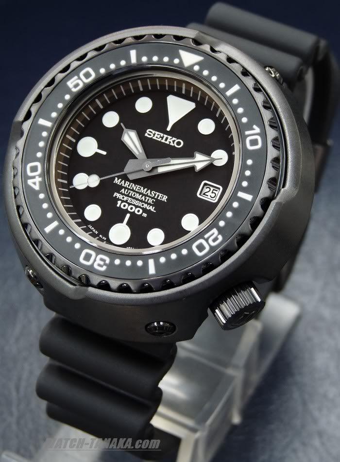 Seiko Prospex Marine Master Pro Diver (Hockey Puck or Emperor Tuna) 1000M, 50mm diameter titanium case, 8L35 Automatic 26 jewel - SBDX011 - $2738