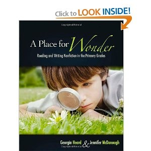 Most amazing book for early elementary classrooms: wonder centers, discovery learning, writing about wonders, wonder boxes - very inspiring for science, reading & writing.