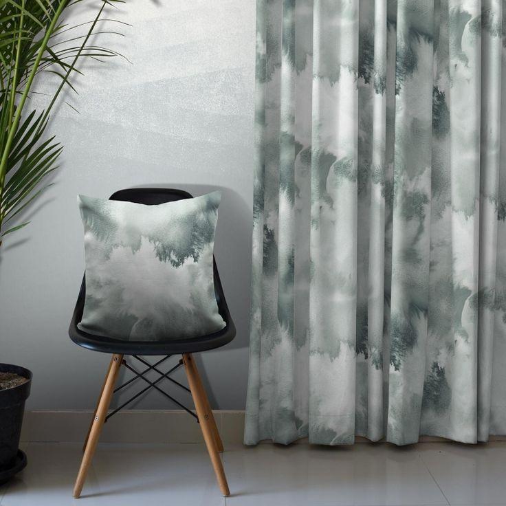 Baltic Sea Cotton Fabric (Mint) on Feathr.com
