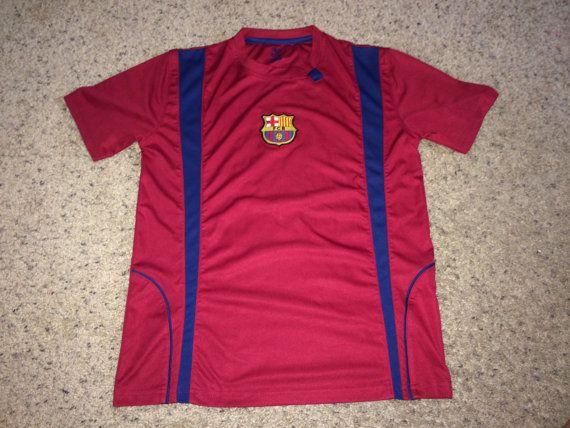 Sale Fc BARCELONA Soccer Jersey BARCA Spain Football by casualisme