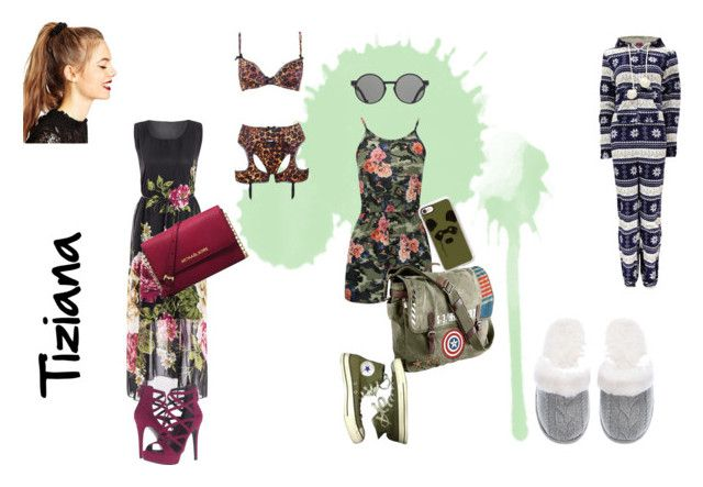 """""""Tiziana's fashion"""" by mariapizzuto on Polyvore featuring moda, Marvel, Converse, Casetify, ToyShades, Agent Provocateur, Victoria's Secret, GUESS, Michael Kors e ASOS"""