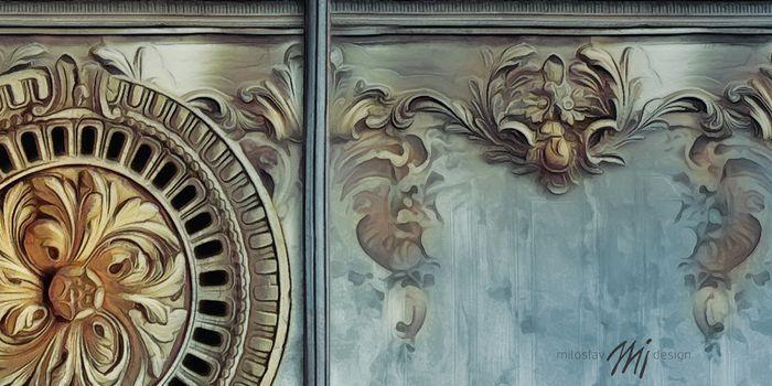 #wallcovering printed panel design