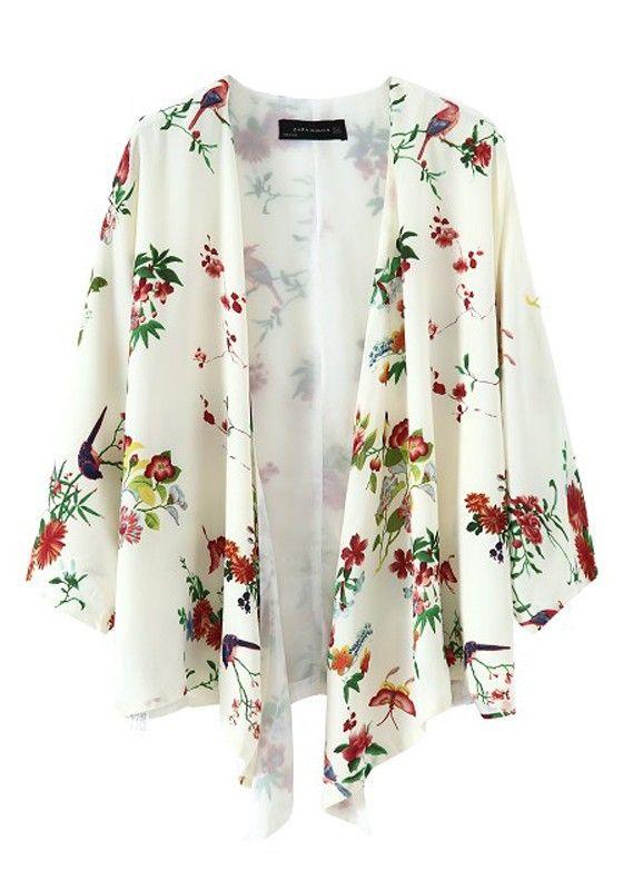 52 best Chiffon Kimono Cardigans images on Pinterest | Kimono ...
