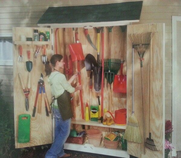 Garden Tool Storage Cabinet - 97 Best Garden Sheds Images On Pinterest