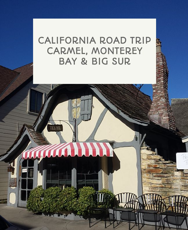 California road trip: Carmel, Monterey Bay and a trip through Big Sur. Top tips on where we stayed, where we ate, what we did and more! Post via This Little Space of Mine