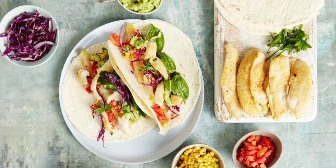 Winning recipe that the kids and adults like will love!  Mexican Fish Tacos by I Quit Sugar
