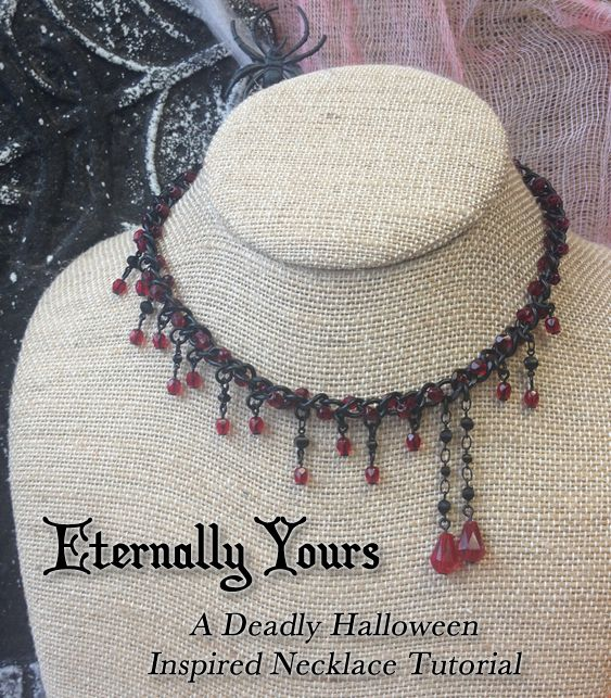 Eternally Yours Necklace Tutorial   Loose Ends