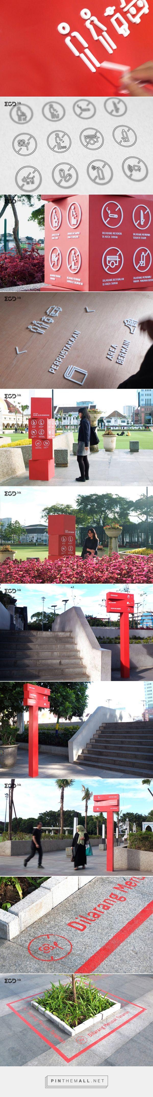 alun-alun bandung导视设计 |  EGD环境图形设计 - created via http://pinthemall.net
