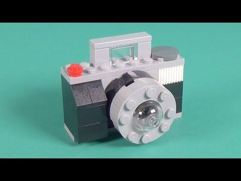 """Lego Camera Building Instructions - Lego Classic 10698 """"How To"""" - YouTube"""