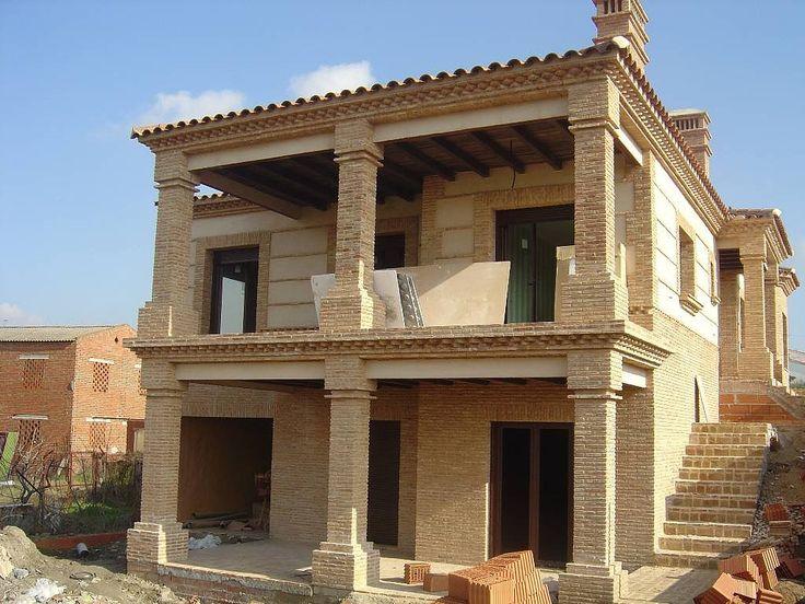 Fachadas para casas de ladrillo inspiraci n de dise o de - Disenos interiores de casas ...