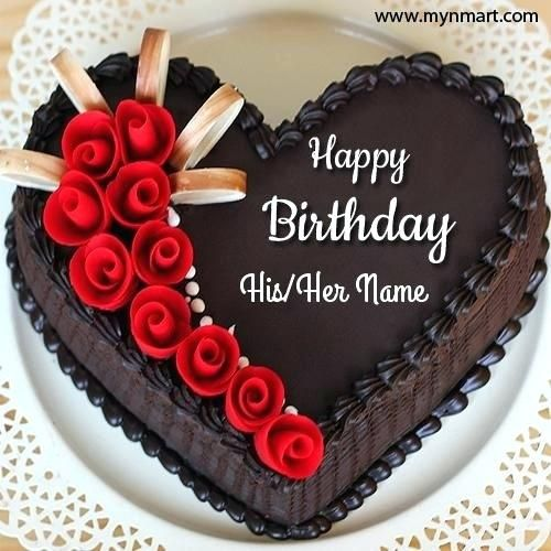 Create Birthday Cakes With Names Online Feat For Frame