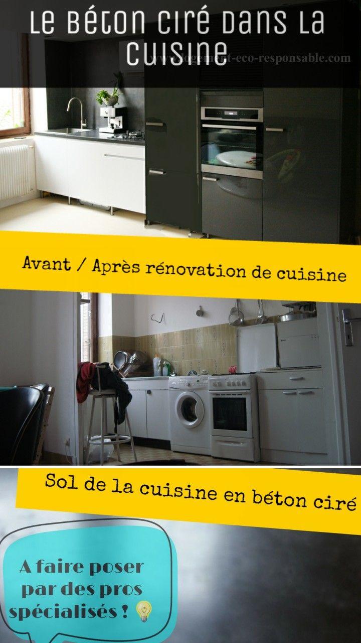 Plan De Travail En Stratifié Avis l'utilisation du béton ciré dans la cuisine: au sol, en