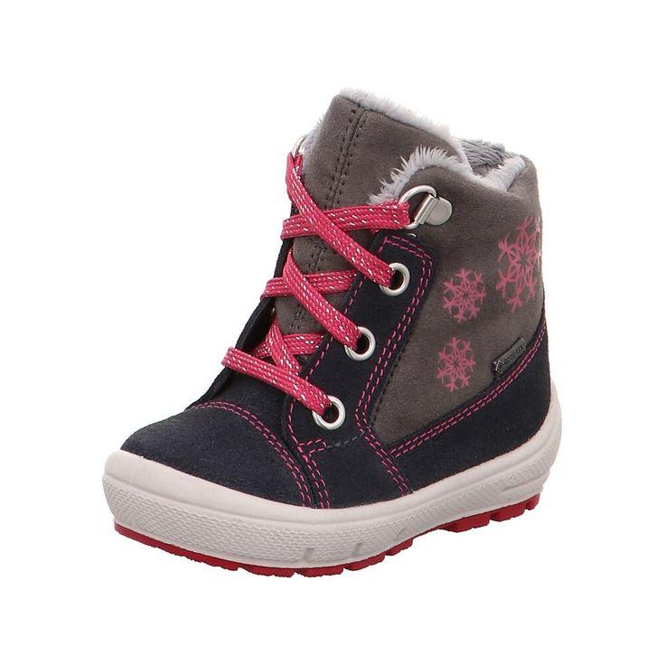 Superfit Winterstiefel Groovy Madchen Taupe Anthrazit Pink Grosse 25 Winterstiefel Stiefel Und Kinder Winterstiefel