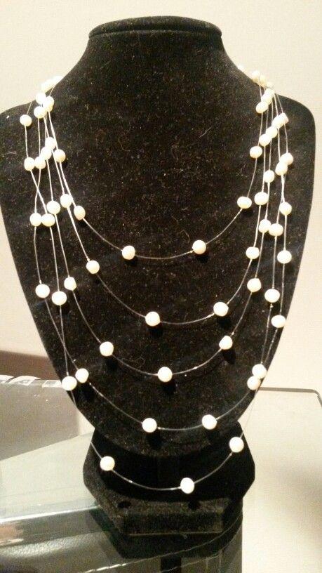 Perlas de río bisutería