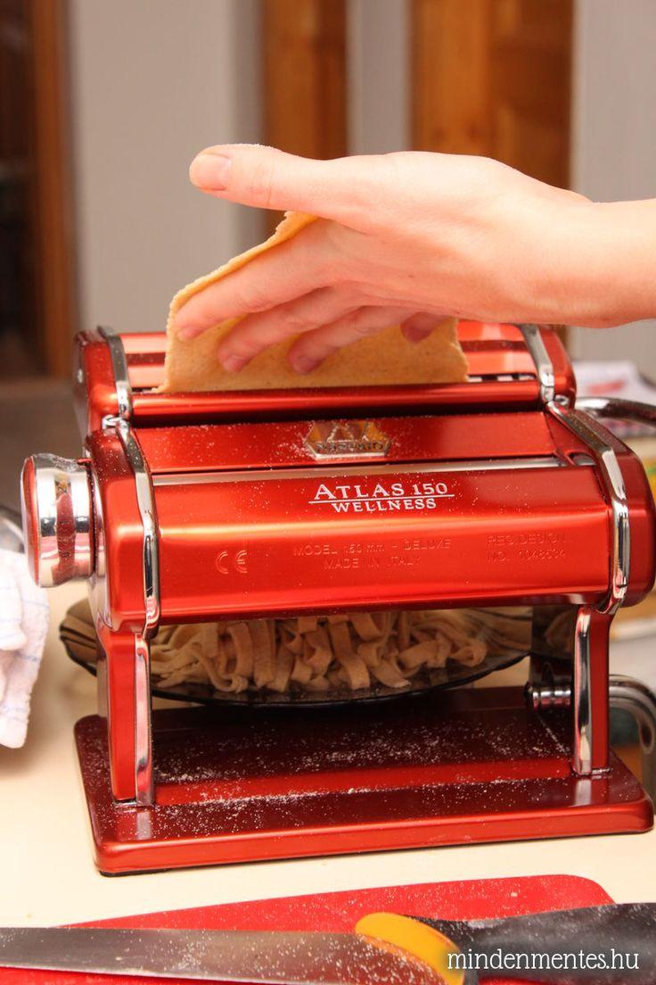 Gluténmentes, teljes kiőrlésű házi tészta