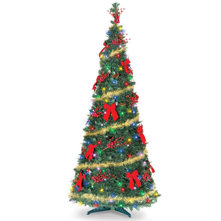 Revolving Fiber Optic Christmas Tree