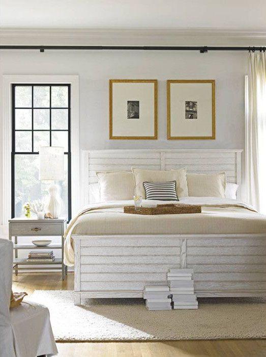 Resort Bed - Summer Whites