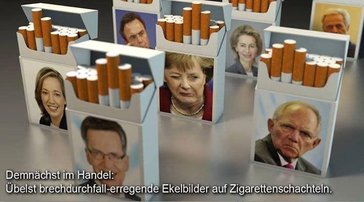 Zigaretten Ekelbilder !