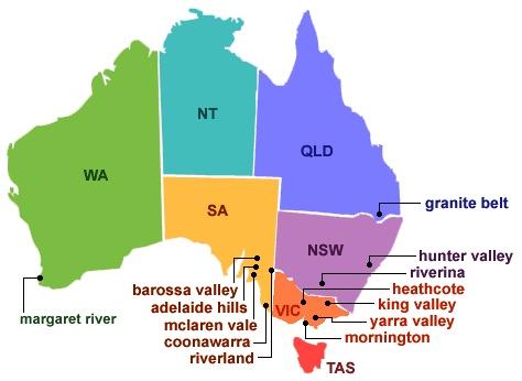 Australian wine regions Best Australian Wines