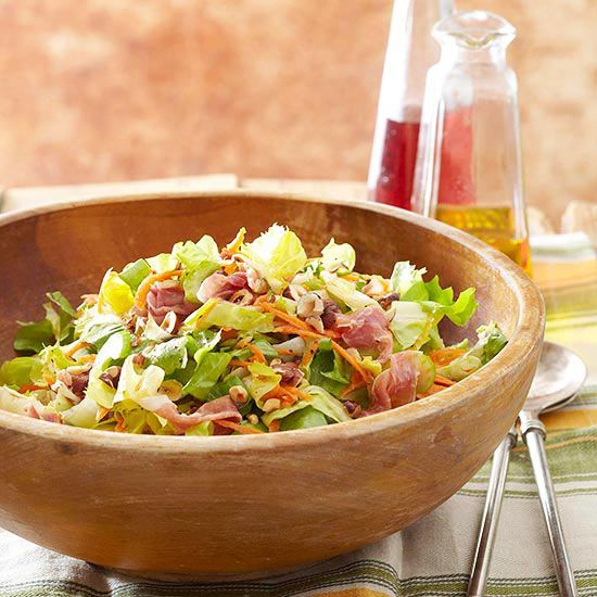 Savory Escarole Slaw Fast and Fabulous BBQ Sides and summer potluck