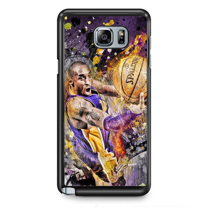 Kobe Bryan Spalding Basketball TATUM-6211 Samsung Phonecase Cover Samsung Galaxy Note 2 Note 3 Note 4 Note 5 Note Edge