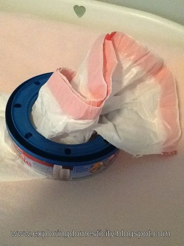 Exploring Domesticity: A Better Diaper Genie Refill update- duh why didn't I think of that