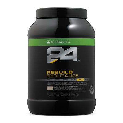 H24 Rebuild Endurance  Rebuild Endurance Kohlenhydrat-Protein-Getränk für die Erholungsphase nach dem Ausdauersport.  # 1436Vanillegeschmack 1000 g www.GOHERB.eu