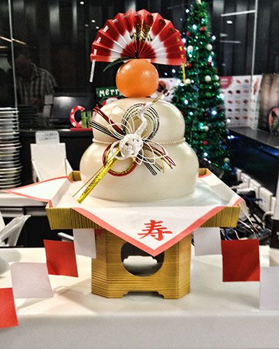 Kagami Mochi is part of the New Year celebrations in Japan