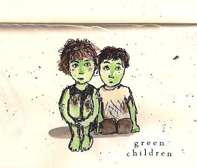 Illustration from The Green Children