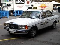 W123 Taxi
