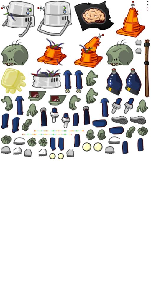 This page contains art and concepts of Plants vs. Zombies 2. Please note that these are not fake, but rather scrapped ideas, information about plants, zombies, and worlds. This section shows concept art of various things in Plants vs. Zombies 2.