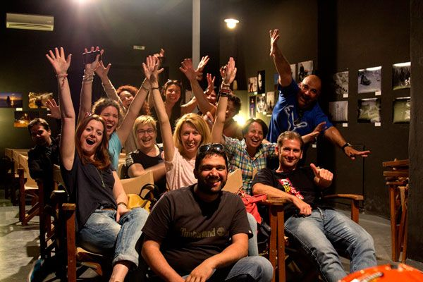 Ταινίες, φωτογραφίες κι ένα πάρτι! -- προβολές φωτογραφιών μαθητών τμημάτων φωτογραφίας και πάρτι στο Cinemarian
