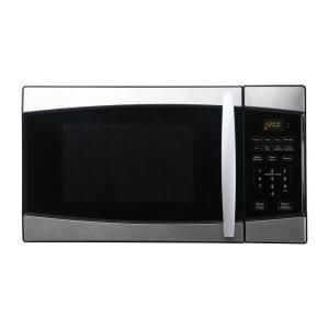 800 Watt Counter Compact Top Microwave Levels 6 One Touch Cooking Programs
