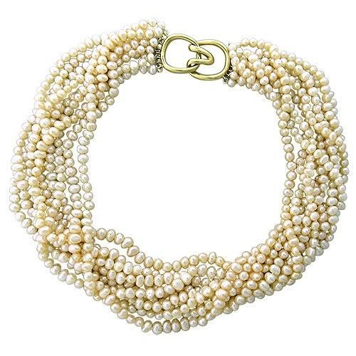 She Collects Pearls from the Sea