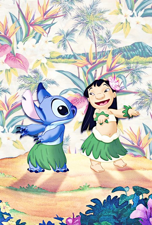 - iPhone Backgrounds → Lilo and Stitch by request