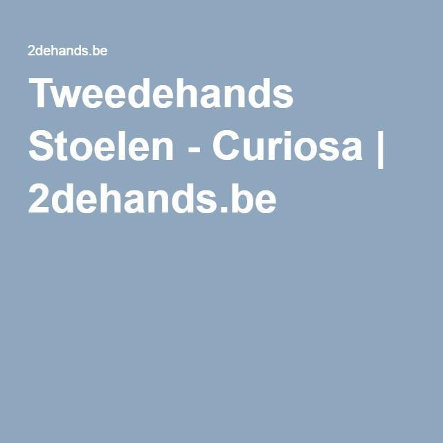 Tweedehands Stoelen - Curiosa | 2dehands.be
