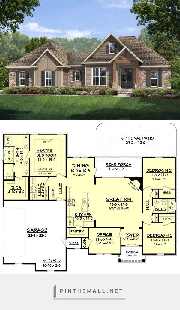 Best 25+ Simple Floor Plans Ideas On Pinterest | Simple House Plans, House  Floor Plans And Small House Floor Plans