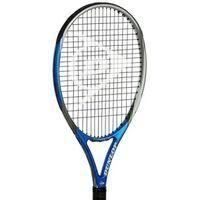 DUNLOP-SPORTS-Tennis-Dunlop Biomimetic Team Tennis Racket-£42.00-Dunlop Biomimetic Team Tennis Racket  Designed for intermediate to advanced players with short/medium swing types this Dunlop Biomimetic Tennis Racket benefits from a premium graphite/carbon fibre frame with a larger headsize and sweetspot for added power and comfort. This Dunlop Tennis Racket utilises Aerskin Cx technology designed to reduce drag for improved racket head speed and MoS2 grommets reduce string friction for ...