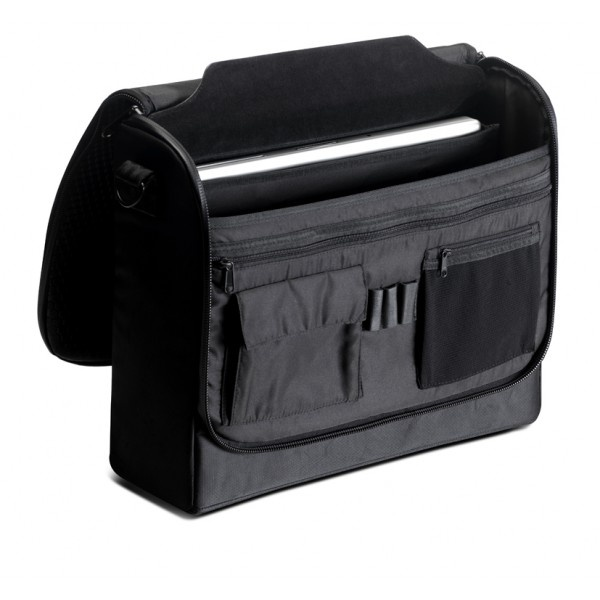 LAP56 Messenger Bag with Inner Memory Foam Padded Laptop Compartment