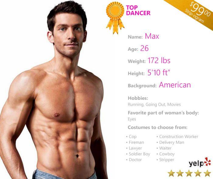 Fresno male stripper — photo 9