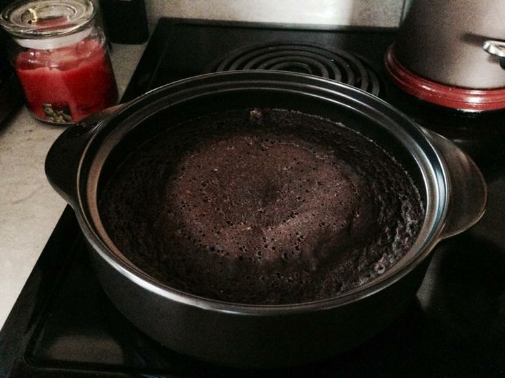 Pampered Chef Rockcrok Lava Cake