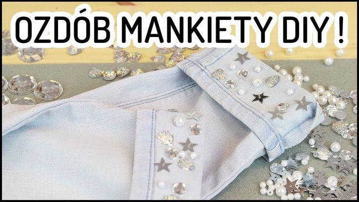 DIY jeans, perełki i cekiny: pomysł na ozdobne mankiety spodni