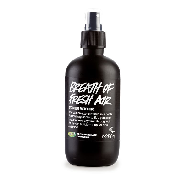 LUSH Breath of Fresh Air Toner // Heather Dorak's Top 5 Post-Exercise Products