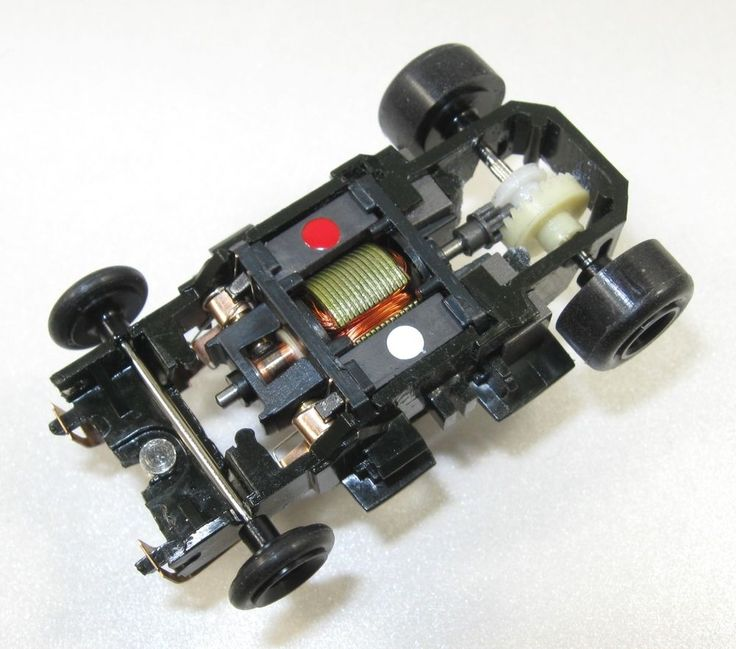 Tyco Slot Car - 2.8 OHM Wicked Fast SCORPION WIDE PAN PRO 10