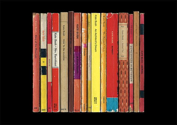 Kate Bush 'Aerial' Album As Penguin Books Poster Print