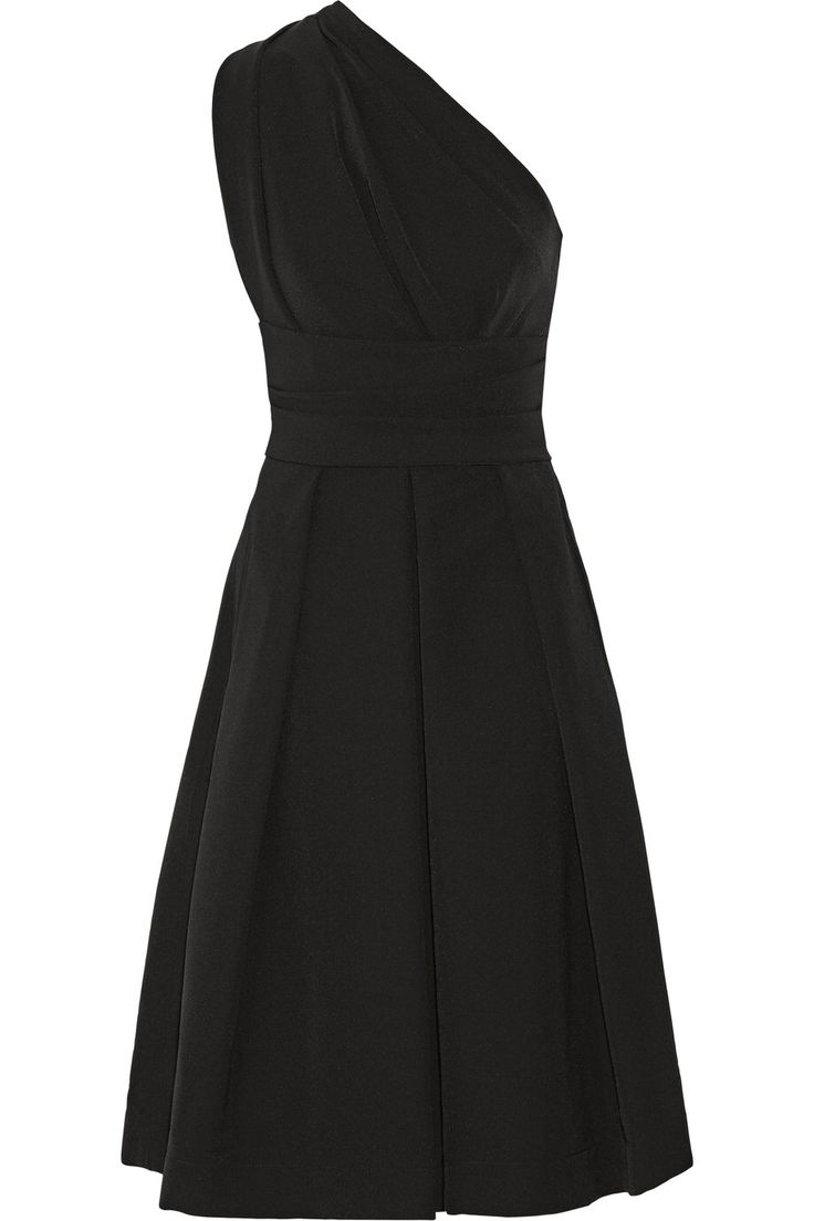 PREEN BY THORNTON BREGAZZI ATHENA ONE-SHOULDER STRETCH-CREPE DRESS GBP282.92 http://www.theoutnet.com/product/651523