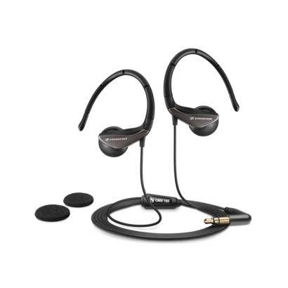 Sennheiser OMX185, Clip On, Black, Earphones