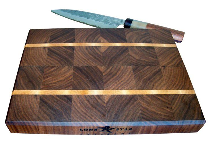 End-Grain Maple Stripe Cutting Board