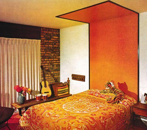 135 Best 1960s Bedroom Images On Pinterest